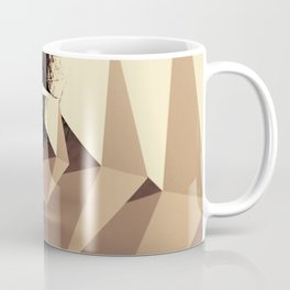 Multifaceted - Gold Coffee Mug