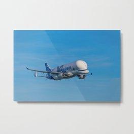 Airbus Beluga XL supertransporter Metal Print