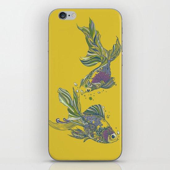 Blooming in Deep iPhone & iPod Skin