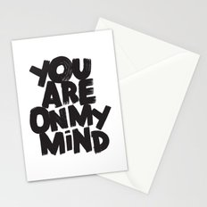 YOU ARE ON MY MIND Stationery Cards