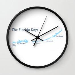 Florida Keys. Wall Clock