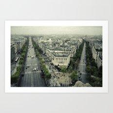 Paris Likes You Art Print