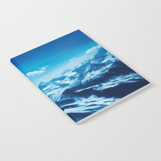 Winter Wonderland up in the Mountains #1 #art #society6 Notebook