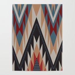 American Native Pattern No. 21 Poster