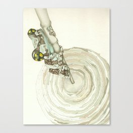 Living Interiors serie - Frog Canvas Print