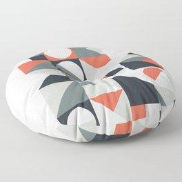 Mid Century Geometric 04 Floor Pillow