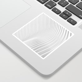 White Pattern Sticker