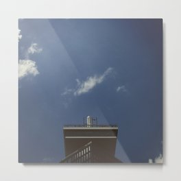 #xxx - amsterdam architecture and sky photography Metal Print