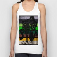 aquarius Tank Tops featuring Aquarius by Rendra Sy