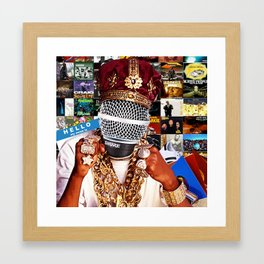 Hip-Hop Framed Art Print