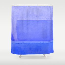 Blue City of Chefchaouen in Morocco Shower Curtain
