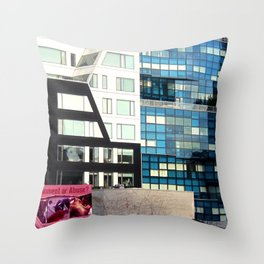 Entertainment or Abuse? Throw Pillow
