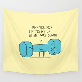 uplifting friend Wall Tapestry
