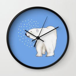 Polar Bear #8 Wall Clock