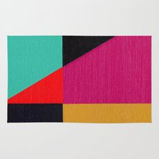 Red Triangle Rug