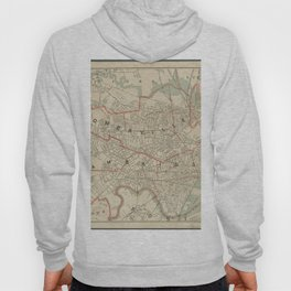 Beautiful 1892 Vintage Map of Cambridge and Somerville Hoody