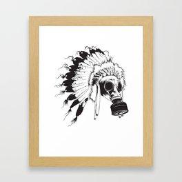 GasMax Chieftain Framed Art Print