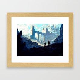 Skyhold Framed Art Print