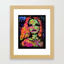 The Hour Of The Soul. Framed Art Print