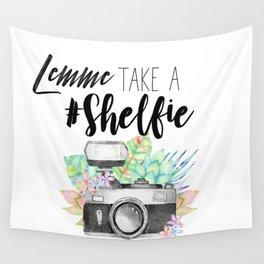 Lemme Take a #Shelfie Wall Tapestry