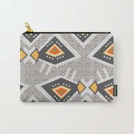 Dotted ethnic pattern Carry-All Pouch