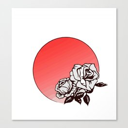 Two Rose Canvas Print