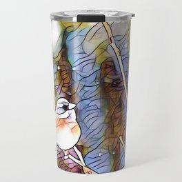 Junco Pastel Multi by CheyAnne Sexton Travel Mug