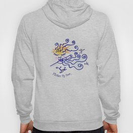 Flutes fly free Hoody