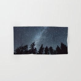 Milky Way in the Woods | Nature and Landscape Photography Hand & Bath Towel