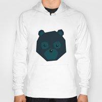 polygon Hoodies featuring Polygon Bear by AJAN