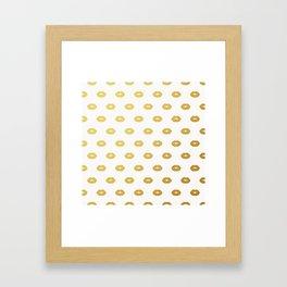 Golden x Framed Art Print