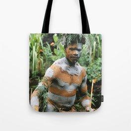 Papua New Guinea Villager Tote Bag