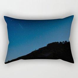 Night sky over Glendalough Wicklow Rectangular Pillow