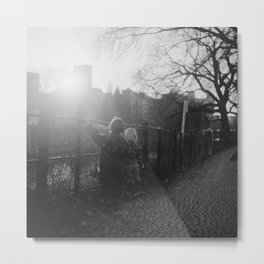 Two Boys in Berlin Metal Print
