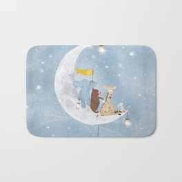 starlight wishes with you Bath Mat