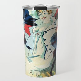1890 Jardin De Paris Night Party Travel Mug