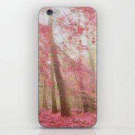 atmospheric autumn iPhone Skin