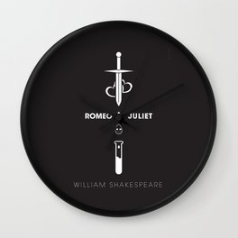 Romeo and Juliet Poster 01 Wall Clock