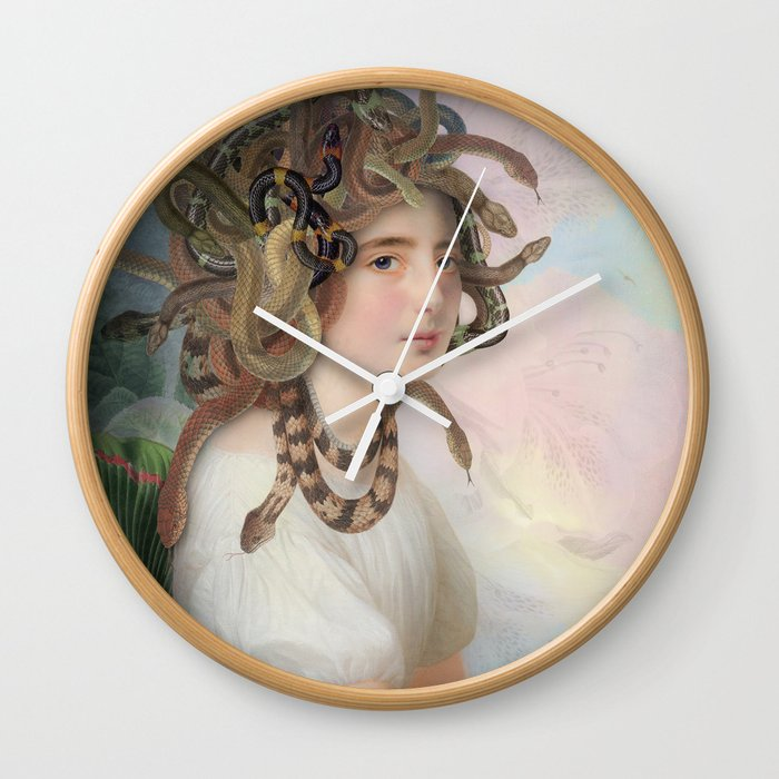 The Price Of Beauty Wall Clock By Yuppie Society6