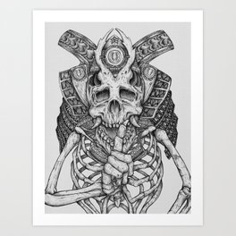 Everything with Skulls - 07 Art Print