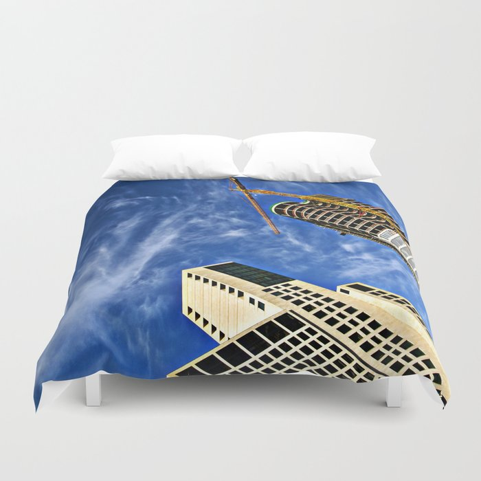 Deep Diving into the Berlin Blue Duvet Cover
