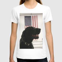 All-American Black Labrador T-shirt
