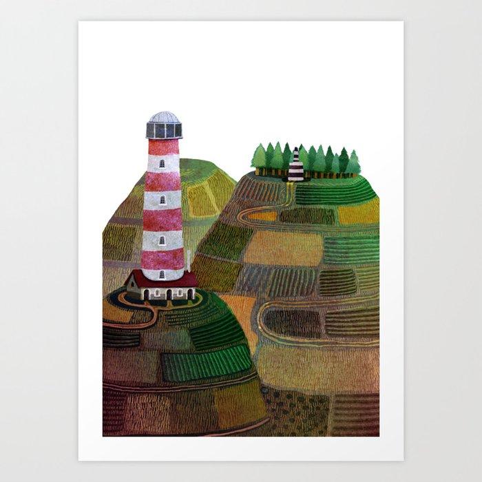 farol 3 Art Print
