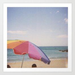 Beach! Art Print