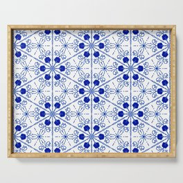 Delft Pattern 2 Serving Tray