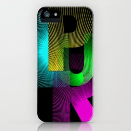 Plur iPhone Case