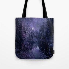 A Cold Winter's Night Tote Bag