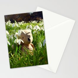 Amongst the Snowdrops Stationery Cards