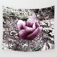 tulip Wall Tapestries featuring Tulip by Grace Thanda