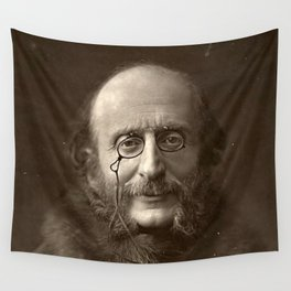 Portrait of Offenbach by Nadar Wall Tapestry